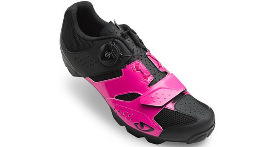 Giro Cylinder Sko Damer pink/sort